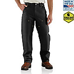 Carhartt Men's Firm Duck Double Front Dungaree Pants