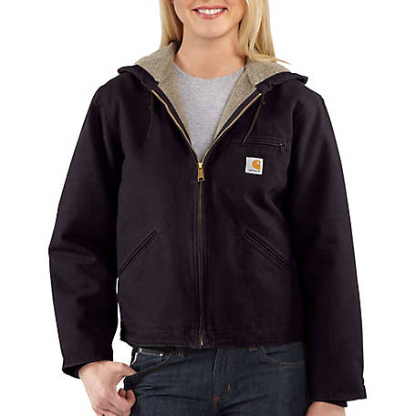 Carhartt Women's Insulated Sherpa-Lined Sierra Jacket, WJ141