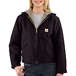 Carhartt Ladies' Insulated Sherpa-Lined Sandstone Sierra Jacket
