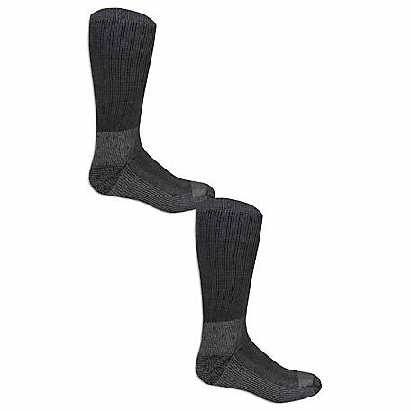 Fruit of the Loom Men's Work Gear PRO Socks, Pack of 2