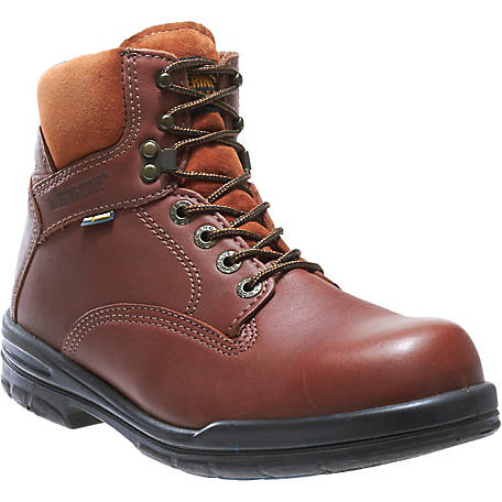 Wolverine Men's Durashocks 6 in. SR Leather Carb Soft Toe Boot