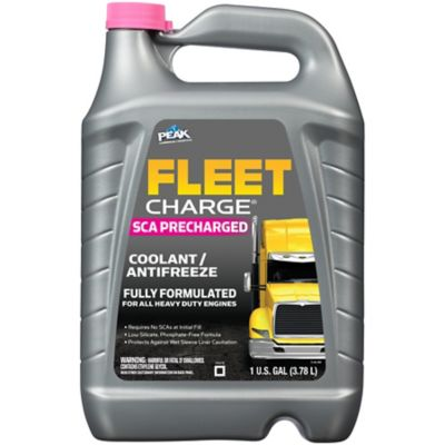 Buy Fleet Charge SCA Precharged Fully Formulated Antifreeze & Coolant; 1 gal. Online