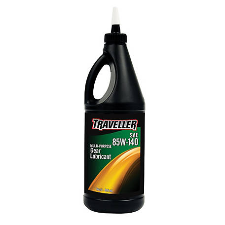 Traveller Multi-Purpose Gear Oil 85W-140, 1 qt.