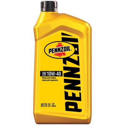 Buy Pennzoil 10W-40 Motor Oil; 1 qt. Online