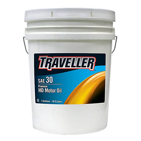 Traveller Heavy Duty SAE30, 5 gal.