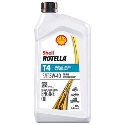 Buy Shell ROTELLA T4 15W-40 Motor Oil; 1 qt. Online