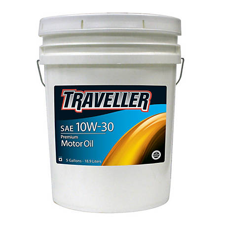 Traveller Motor Oil 10W-30, 5 gal.