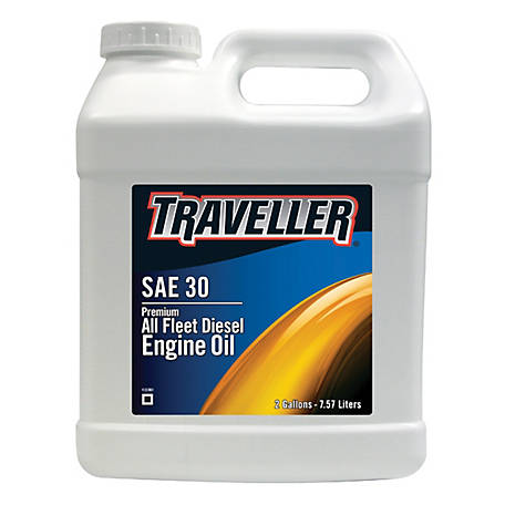 Traveller Diesel Engine Oil SAE 30, 2 gal.