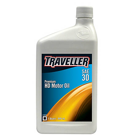 Traveller Heavy Duty Oil SAE 30, 1 qt.
