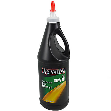 Traveller Multi-Purpose Gear Lubricant 80W-90, 1 qt., 500600