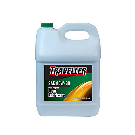 Traveller Multi-Purpose Gear Oil 80W-90, 2 gal.