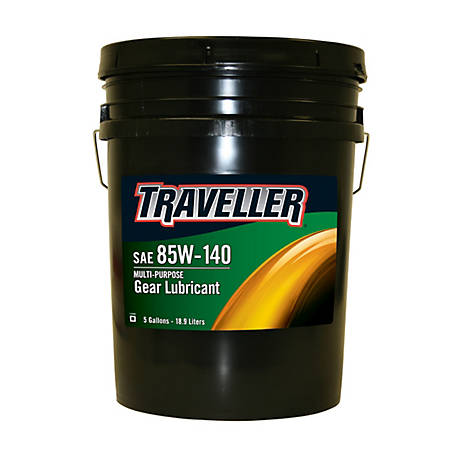 Traveller Multi-Purpose Gear Oil 85W-140, 5 gal.