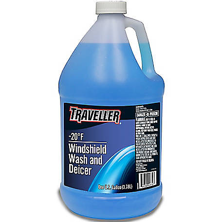 Traveller -20 deg. F Windshield Wash and Deicer, 1 gal.