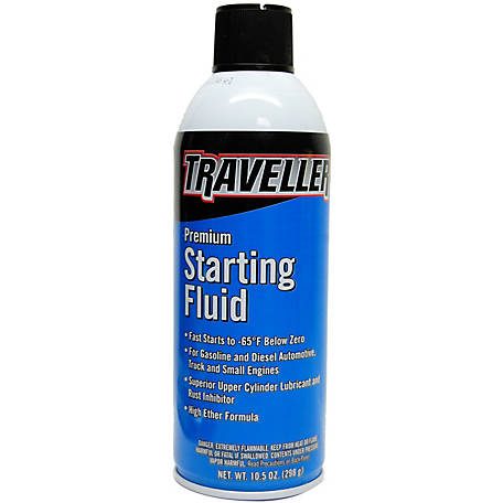 Traveller Premium Starting Fluid, 10.5 oz., ZECO77012