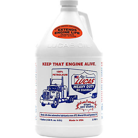Lucas Oil Products Heavy-Duty Oil Stabilizer, 1 gal.