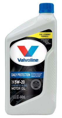Buy Valvoline Conventional 5W20 Motor Oil; 1 qt. Online