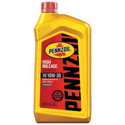 Buy Pennzoil 10W-30 High-Mileage Motor Oil Online
