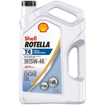 Buy Shell ROTELLA T 15W-40 Motor Oil; 1 gal. Case Online