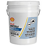 Shell ROTELLA T 15W-40 Motor Oil, 5 gal.