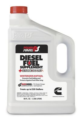 Buy Power Service Diesel Fuel Supplement Antigel + Cetane Boost; 80 oz. Online