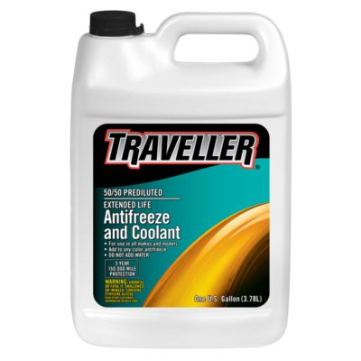 Buy Traveller 50/50 Prediluted Extended Life Antifreeze & Coolant; 1 gal. Online