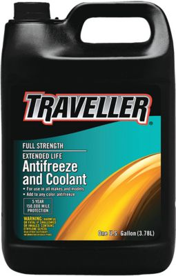 Buy Traveller Full Strength Extended Life Antifreeze & Coolant; 1 gal. Online