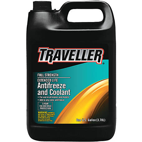 Traveller Full Strength Extended Life Antifreeze & Coolant, 1 gal.