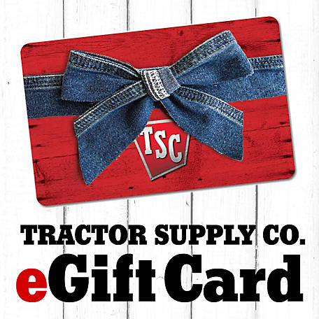 photograph regarding Tractor Supply Coupons Printable identified as eGift Card at Tractor Delivery Co.