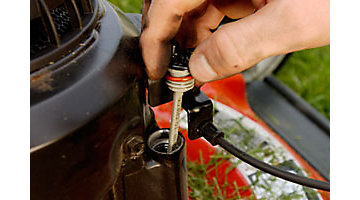 How To Change Oil In A Lawnmower